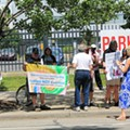 Detroit residents continue protest to remain in homes