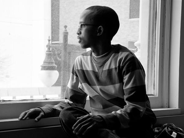 Abdulkarim Jimale is a Somali journalist who earned asylum in Detroit. - MT PHOTO: TRAVIS R. WRIGHT