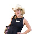 All Dolled Up: We spotted this stylish cowgirl at a Willie Nelson concert