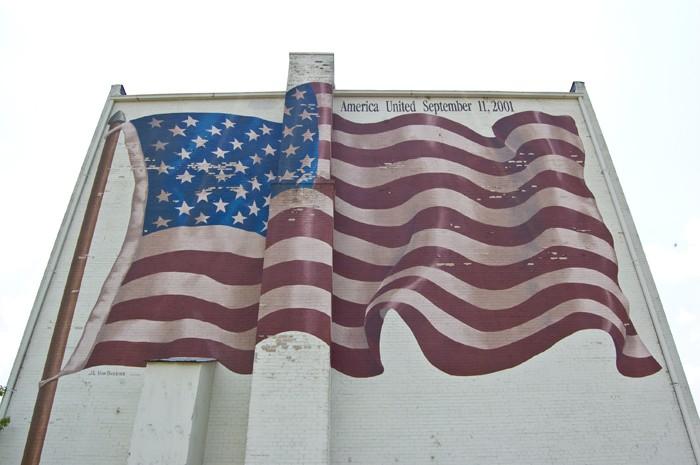 """""""America United September 11, 2001"""" by Jeff Von Buskirk"""