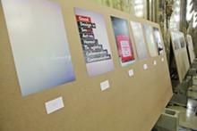 (American Institute of Graphic Designers) poster exhibition.