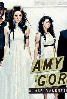 Amy Gore & Her Valentines (9/1 8 p.m. Arts Beats & Eats) Rock chicks singing about cars and partying, power-pop style? Count us in. Mind you, Gore can write a sweet ballad too.  Click here for more info