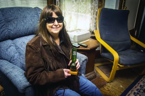 Anne Johnston, 56, was recently told she has approximately six months left to live. Medical marijuana has helped increase her quality of life in many ways.