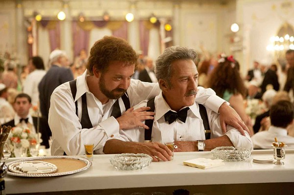 Barney's vision: Paul Giamatti (left) indulges in every unsavory quality.
