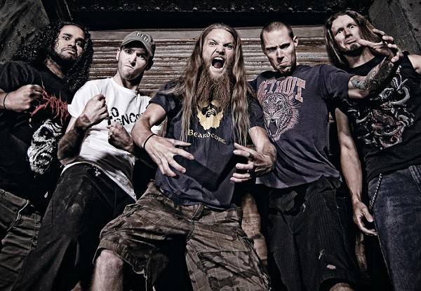Battlecross, pictured here in full-on metal mode. - COURTESY PHOTO.