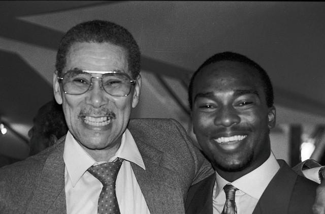 Beans Bowles and James Carter. - MT PHOTO: W. KIM HERON