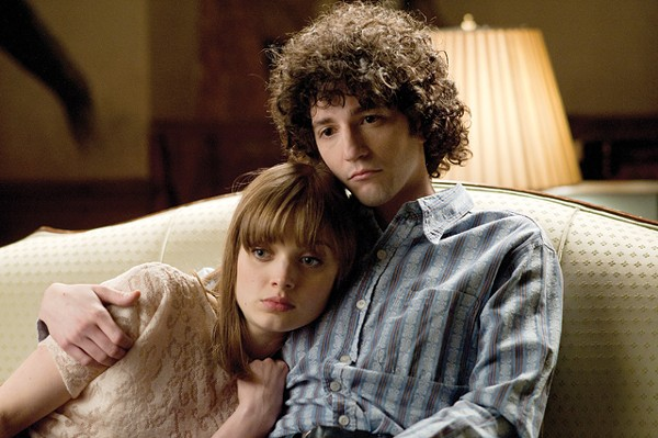 Bella Heathcote and John Magaro are sulking in the '60s in Not Fade Away.