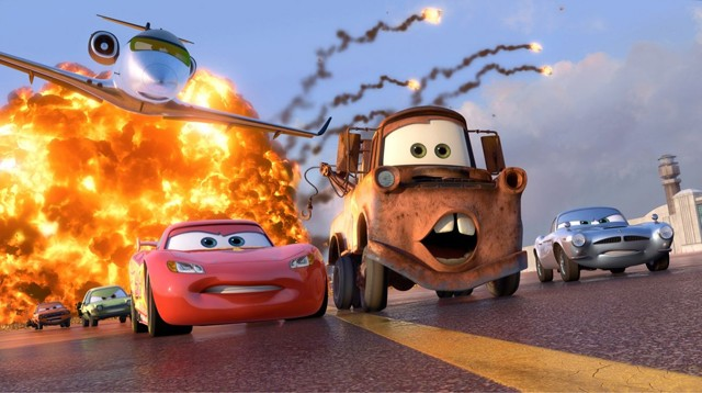 Cars 2: Pretty eye candy and brain rot.