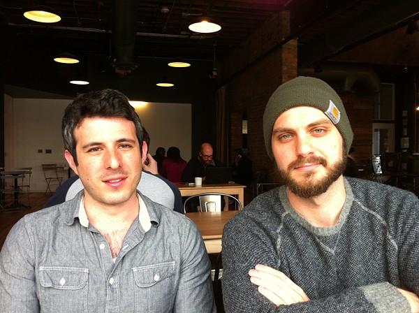 Chad Rochkind, left, and Garret Koehler, right. - PHOTO BY RYAN FELTON.
