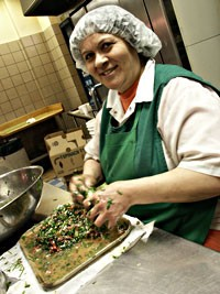 Chef Souad Bazzi prides herself on traditional dishes not often seen in other Middle-Eastern restaurants. - METRO TIMES PHOTO / BRUCE GIFFIN
