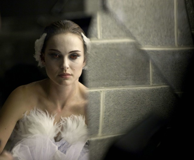 Cracked: Portman in Black Swan.