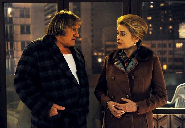 Deneuve and Depardieu have earned the right to be mediocre.
