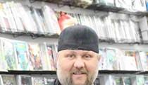 Dennis Barger of Taylor's WonderWorld Comics