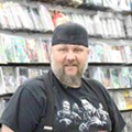 Dennis Barger of Taylor's WonderWorld Comics