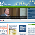 Detroit seeking grant for new website