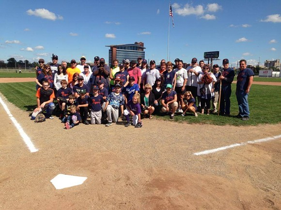 From the NFGC Facebook page: Our good friend Ken Sikora organized a really cool event at the field today. - The Center Line Tigers took on their parents to celebrate the end of their Little League season. Everyone had a great time at The Corner. - And thanks to State Rep. Doug Geiss (Taylor) for helping the NFGC prepare the field. We're always looking for new volunteers. Hope to see you next Sunday at 10 a.m.! - COURTESY NAVIN FIELD GROUNDS CREW