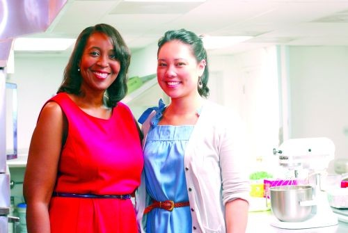 Devita Davison (left) and Jess Daniel are driving a novel concept: kitchen as business incubator.