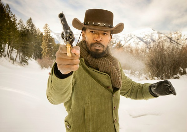 Django: Freed slave has slavers in his sights