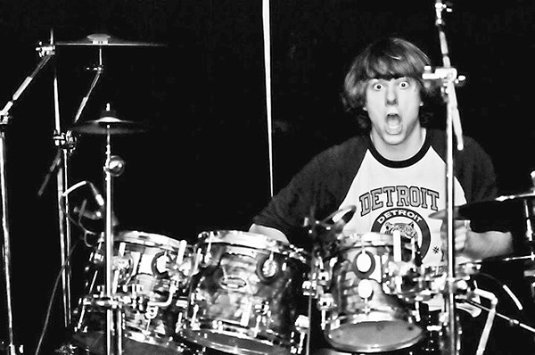 Drummer Taylor Greenshields of Detroit's best metal band.