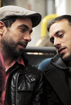 Everybody wants a new romance: Tom Cullen and Chris New in Weekend.