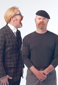 For the better part of a decade, the Discovery Channel series Mythbusters has sought to uncover the truth behind some of pop cultures most enduring myths and legends by mixing scientific method with gleeful curiosity — and plain old-fashioned ingenuity to create a signature style of experimentation. Hosted by Jamie Hyneman (featured in our story this week) and Adam Savage, along with co-hosts Tory Belleci, Kari Byron and Grant Imahara, these folks have made science both fun and accessible. No lab coats required. While the show is on hiatus, Hyneman and Savage bring their wonky-yet-übermensch to audiences around the country and this Sunday they stop at the Fox Theatre. Don't worry, no high explosives in this venue allowed. Sunday, Dec. 8. olympiaentertainment.com