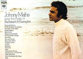 Johnny Mathis sings the Hits of Bacharach & Kaempfert
