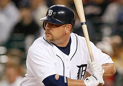 Former Tiger Matt Stairs' dramatic pinch-hit home run on the final day of the 2006 regular season was not enough to salvage a division title. - IMAGE VIA TRADEFIRST.COM