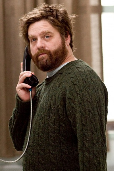 Galifianakis as the sanist of crazies.
