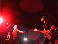 Give playing live at Pumpstock 2000 - PHOTO / MIKE REHFUS