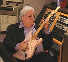 Gray eminence: Dick Wagner, guitar hero, songwriter, producer.