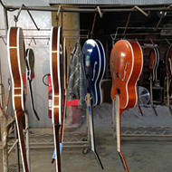 Heritage Guitars and the old Gibson Guitar Factory survive and prosper in Kalamazoo