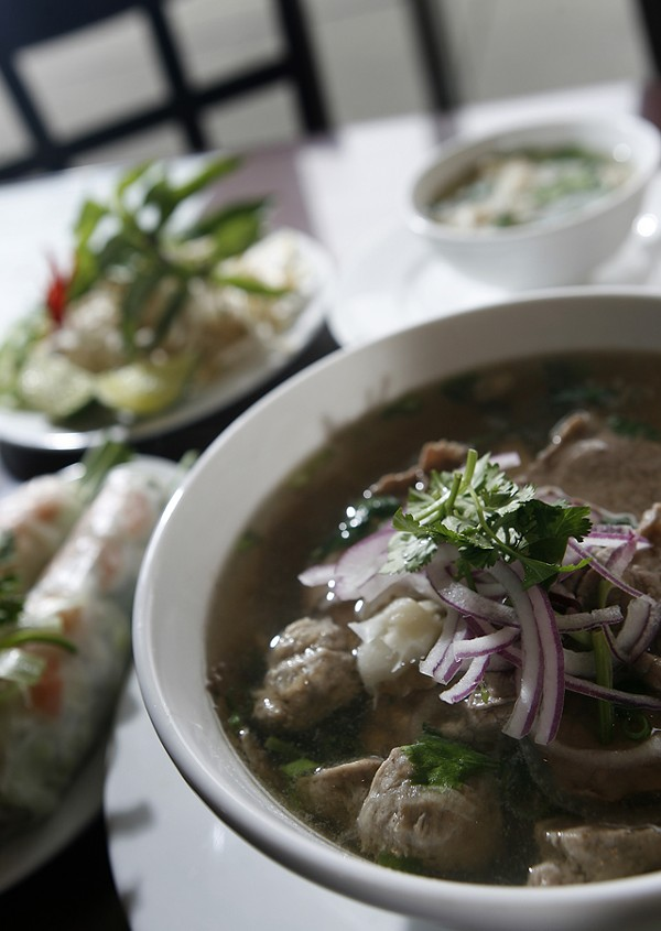 House Special Pho from Pho Viet in Warren - MT PHOTO: ROB WIDDIS