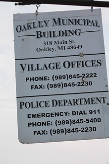 173fcb940ea How one police chief and his 110 reserve officers have split the village of  Oakley and its 286 residents