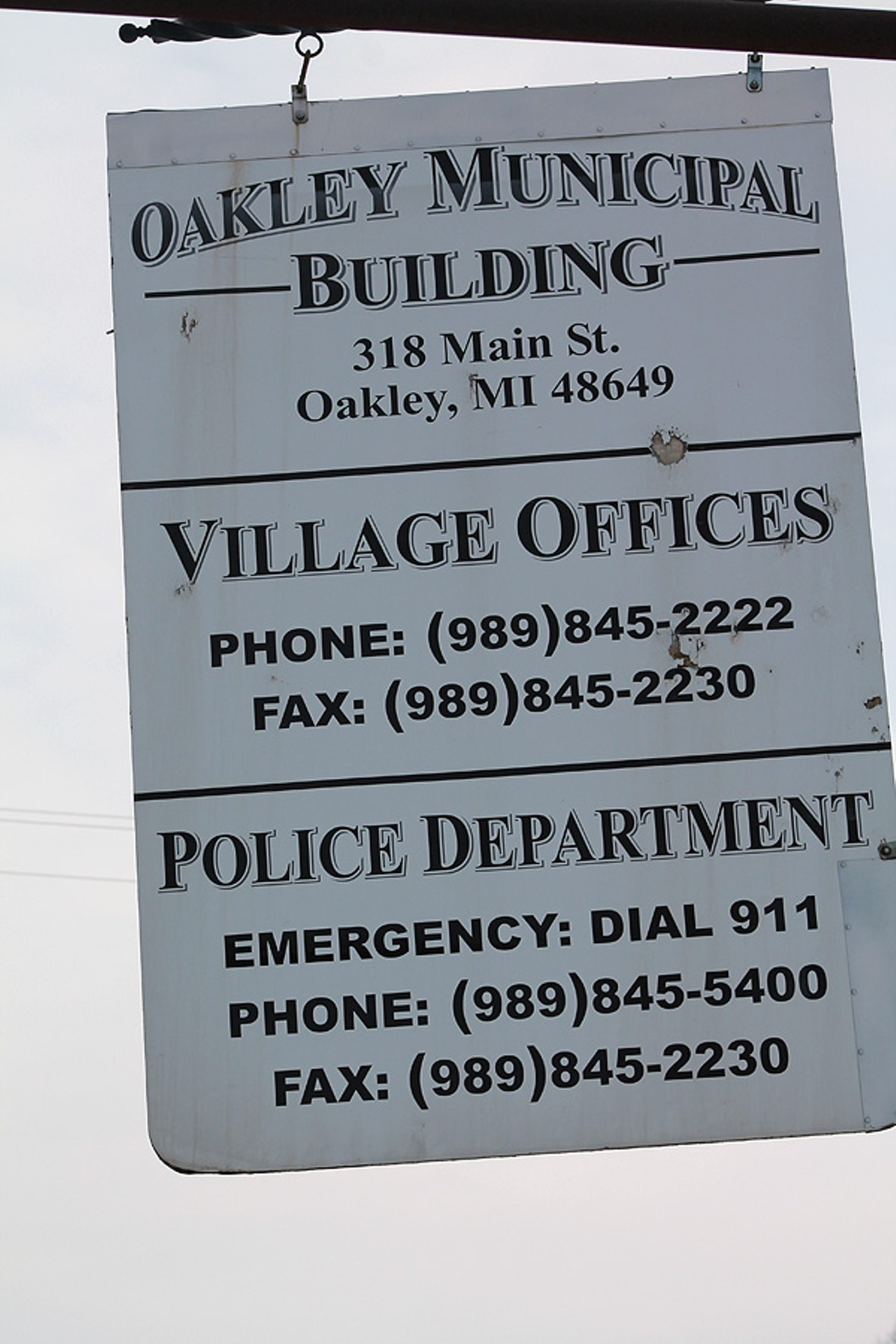 fa5ec0b1de How one police chief and his 110 reserve officers have split the village of  Oakley and its 286 residents