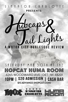 BEN SARDIS - Hubcaps &Tail Lights Flyer