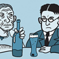 H.L. Mencken and Charles Bukowski offer their own (differing) rules for drinking