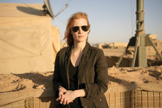 Jessica Chastain plays a dogged spook on a dark mission.