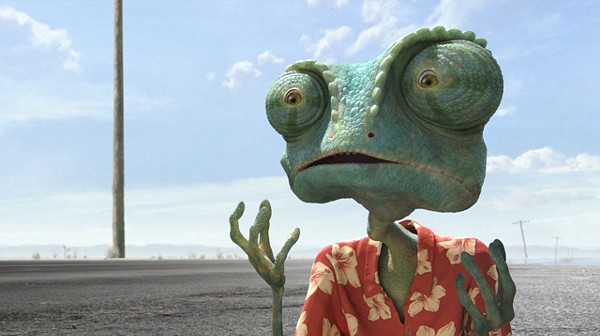 Johnny Depp is Rango: Hipster parents welcome.