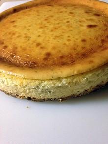 Kirk Reid's Key lime cheesecake.