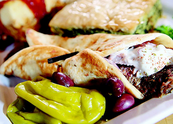 KouZina Greek Street Food offers big portions with small prices