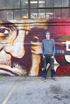Kyle Danley honors architect Albert Kahn with mural