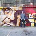 Kyle Danley honors architect Albert Kahn with mural