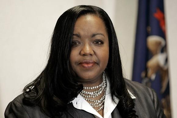 Kym Worthy,  Wayne County prosecutor - WAYNE COUNTY
