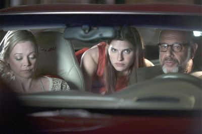 Lake Bell (center) as Carol Solomon, a voiceover coach in L.A.