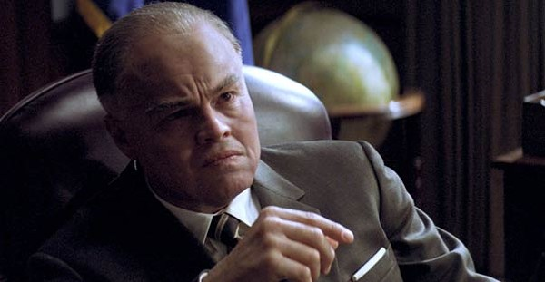 Leonardo DiCaprio in J. Edgar-face: Cheap emptiness.