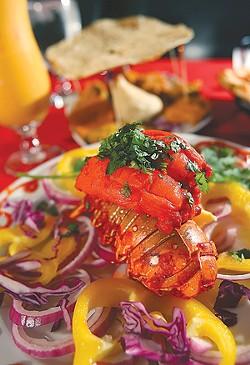 Lobster Tandoori - MT PHOTO: ROB WIDDIS