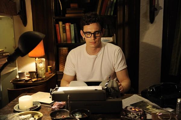 Mad man: Franco as Ginsberg.