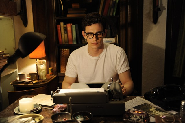 Mad man: Franco as Ginsberg.
