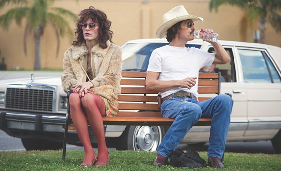 "Actors Jared Leto (left) and Matthew McConaughey (right) star in 2013's ""Dallas Buyers Club."" - MT FILE"