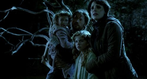 Mama: Not a real horror film so much as a sporadic and unmotivated series of jolts.